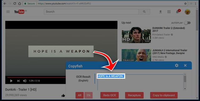 طريقة استخراج النصوص من فيديوهات اليوتيوب