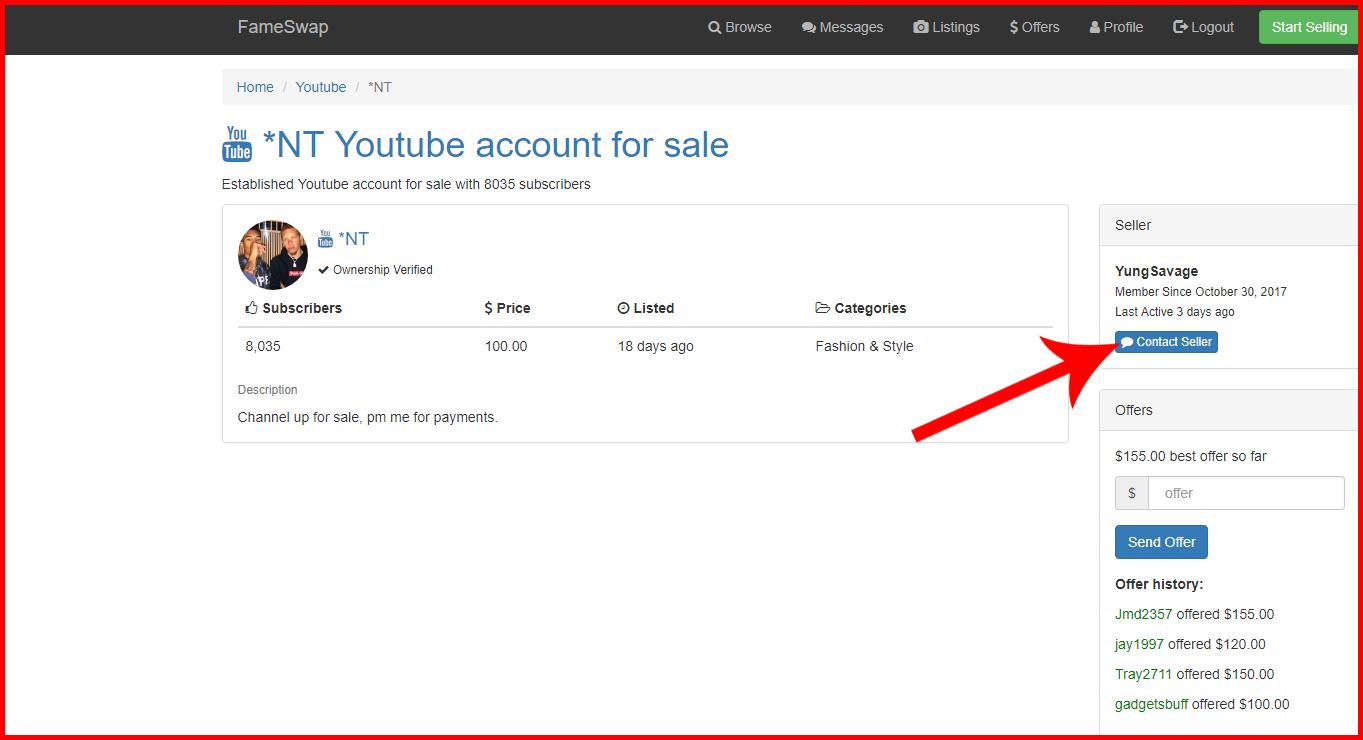 موقع رائع لبيع وشراء قنوات اليوتيوب وحسابات الانستجرام بآلاف المتابعين وبأسعار مناسبة