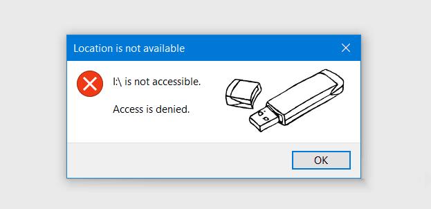 اليك الحل الامثل لحل مشكلة Access Is Denied عند فتح الفلاشة على ويندوز