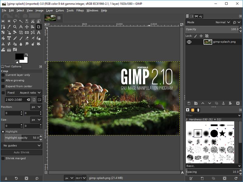 برنامج GIMP بديل مجاني لادوبي فوتوشوب